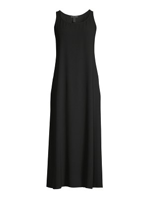 Eileen Fisher silk midi dress
