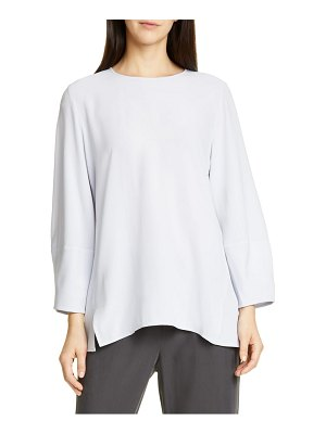 Eileen Fisher silk top