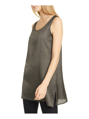 Eileen Fisher sleeveless tunic top