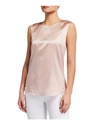 Eileen Fisher Stretch Silk Charmeuse Cami