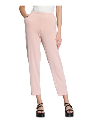 Eileen Fisher Stretch Terry Slouchy Cropped Pants