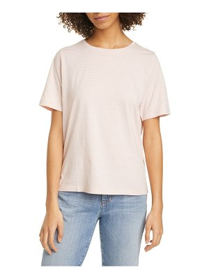 Eileen Fisher stripe organic cotton crewneck t-shirt