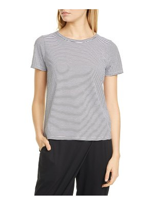 Eileen Fisher stripe organic cotton tee