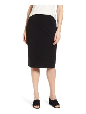 Eileen Fisher tencel lyocell blend knit pencil skirt