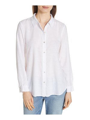 Eileen Fisher tencel lyocell shirt