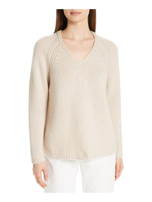 Eileen Fisher v-neck cashmere sweater