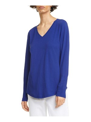Eileen Fisher v-neck organic cotton jersey top