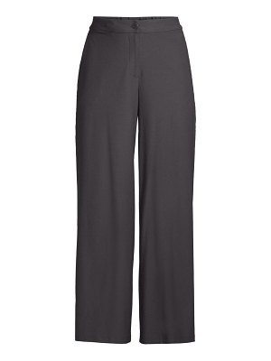 Eileen Fisher wide-leg crop trousers