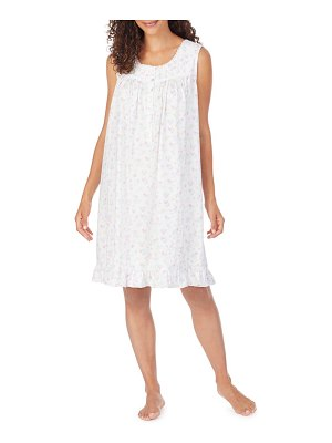 Eileen West floral print short nightgown