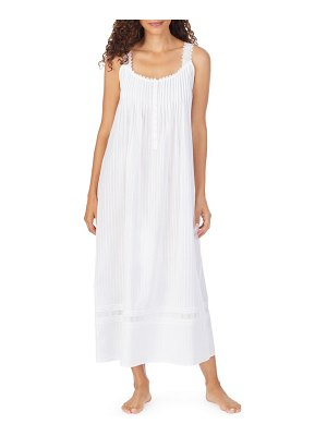 Eileen West sleeveless cotton nightgown