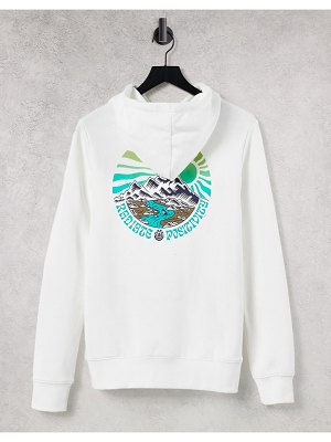Element balmore hoodie in white exclusive at asos
