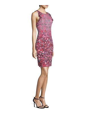 Elie Tahari carelle floral sheath dress