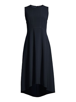 Elie Tahari leighton straight line hem midi dress
