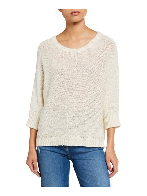 Elie Tahari Monroe Cotton/Hemp Sweater