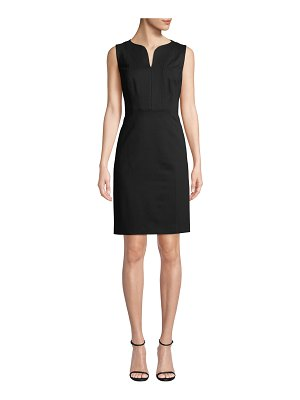 Elie Tahari Natanya Sleeveless Sheath Dress