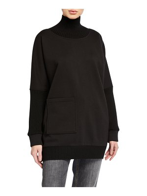 Elie Tahari Reeve Turtleneck Knit Sweater