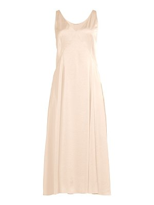 Elie Tahari the olive satin slip dress