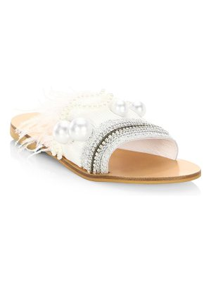 Elina Linardaki mon cherie leather sandals