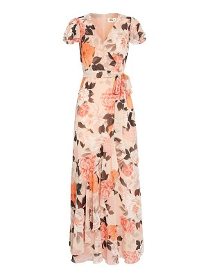 Eliza J faux wrap maxi dress