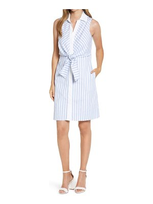 Eliza J sleeveless shirtdress