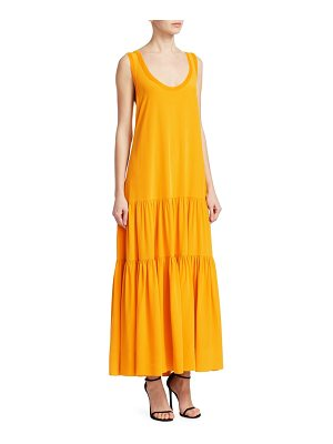 Elizabeth and James hazel silk maxi tank dress