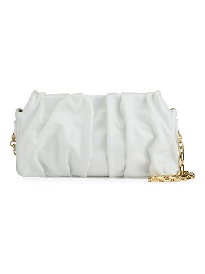 Elleme Vague Small Leather Shoulder Bag With Chain
