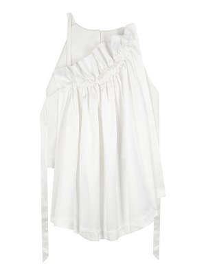Ellery Colorado ruffled satin blouse