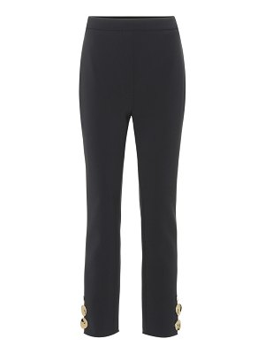 Ellery cropped high-rise straight pants