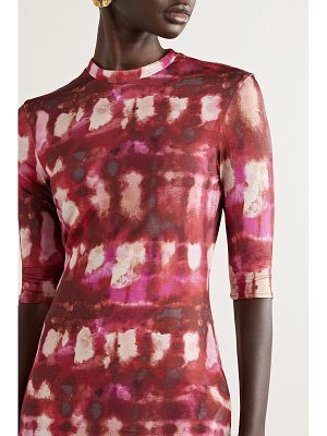 Ellery land of the lost printed stretch-jersey top