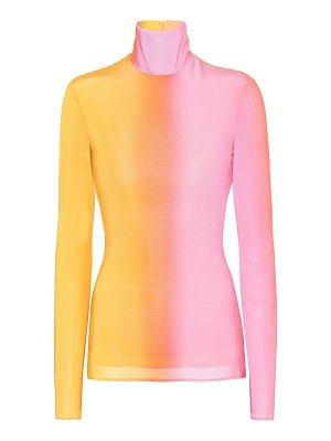 Ellery stretch turtleneck top