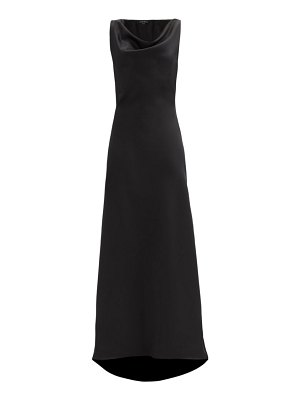 Ellery the g6 cowl-neck satin dress