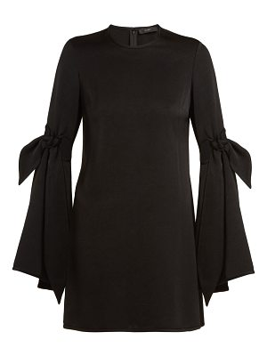 Ellery thelma cut out sleeve mini dress