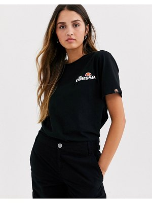 Ellesse t-shirt with embroidered chest logo-black