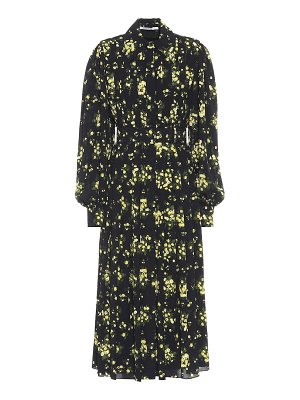 EMILIA WICKSTEAD anatola floral midi dress