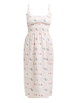 EMILIA WICKSTEAD giovanna boat print dress