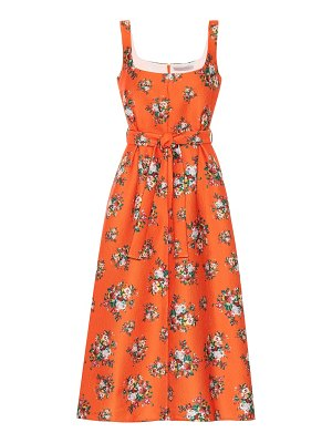 EMILIA WICKSTEAD shaina floral midi dress