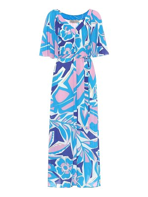 Emilio Pucci Beach printed midi dress