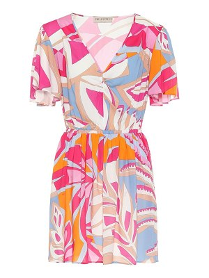 Emilio Pucci Beach printed minidress