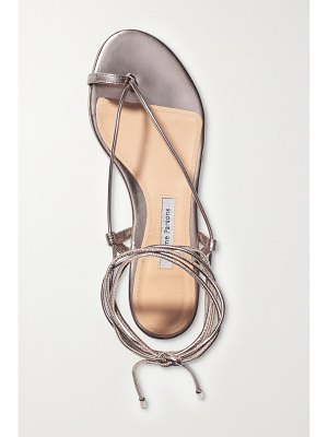 EMME PARSONS ava metallic leather sandals