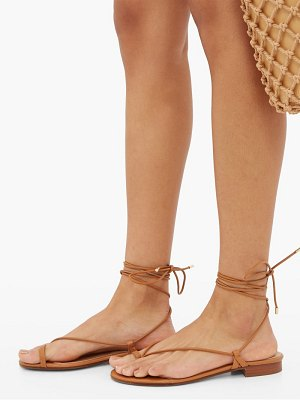 EMME PARSONS ava wrap-around leather sandals