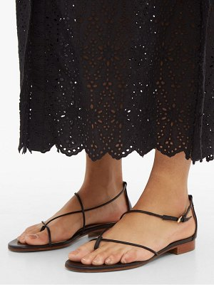 EMME PARSONS string thin-strap leather sandals