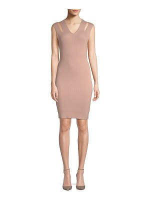 endless rose Cut-Out Bodycon Dress