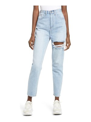 endless rose ripped high waist ankle jeans