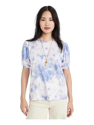 endless rose twist puff sleeve t-shirt