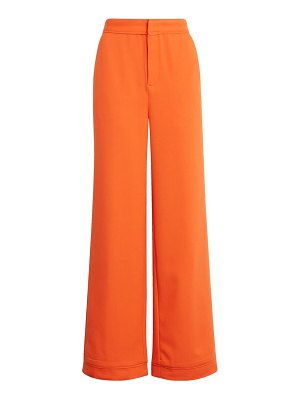 endless rose wide leg crepe trousers