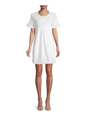 ENGLISH FACTORY Roundneck Shift Dress