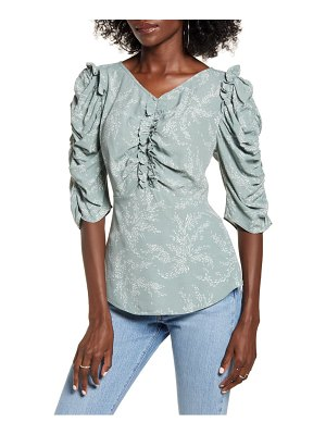 ENGLISH FACTORY ruffled top