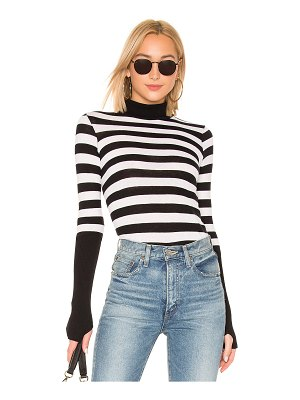 Enza Costa cashmere cuffed turtleneck sweater