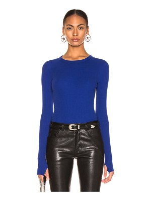 Enza Costa Cashmere Thermal Crew