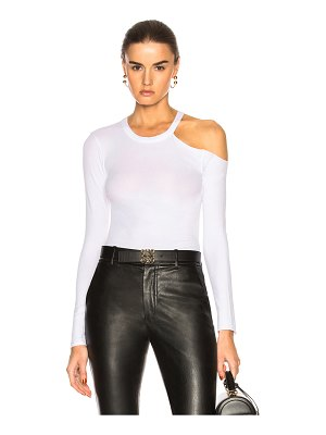 Enza Costa exposed shoulder top